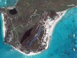 astonishing satellite images reveal islands stripped by hurricane