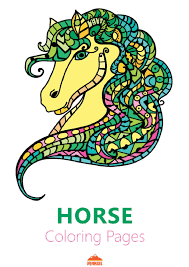 file horse coloring pages printable coloring book for adults pdf