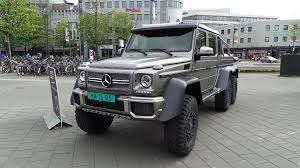 mercedes g63 amg suv 6x6 mercedes g63 amg 6x6 2015 in depth review interior exterior