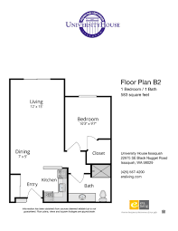 Floor Plan by Floor Plans U0026 Features University House Issaquah Wa Era Living