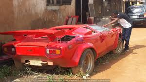 lamborghini countach replica who abandons a lamborghini countach u2013 denn auto world