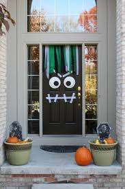 easy halloween decorations to make at home front porch halloween decoration ideas allstateloghomes com