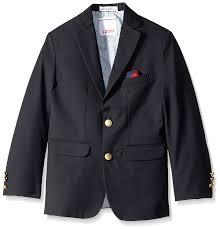 amazon com izod little boys u0027 brass button blazer clothing