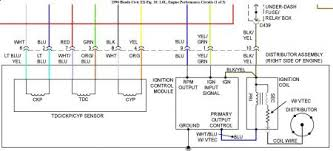 honda distributor wiring diagram honda wiring diagrams instruction