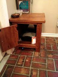 cat litter box cover from an old end table the creativity in the