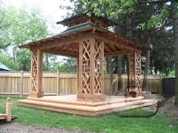 Garden Pagoda Ideas Gazebo Canopy Plan Dans Design Magz