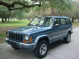 jeep gray blue purchase used jeep cherokee 4dr sport 4x4 clean cold a c automatic