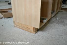 how to install a kitchen island installing our ikea kitchen cabinets