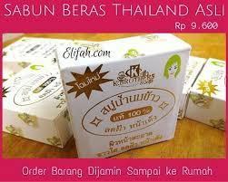 Sabun Thai 13 manfaat sabun beras thailand yang belum anda ketahui elifah