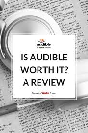 audible review is it worth it