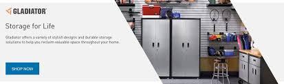 Gladiator Storage Cabinets Gladiator Garageworks Storage Products At Lowe U0027s