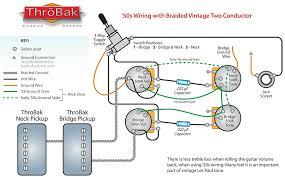throbak humbucker guitar pickup push pull phase switch wiring