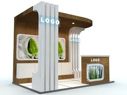 exhibition stand business 3d cgtrader