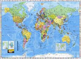 Large World Map Download Stock Photos Of Large World Map As Wall Sticker Images