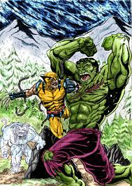 incredible hulk 181 cover recreation color 1 wanderlei78