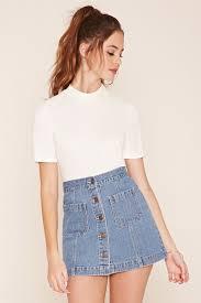 más de 25 ideas increíbles sobre faldas de mezclilla en pinterest