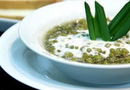 cara membuat bubur kacang ijo empuk resep membuat bubur kacang hijau kuah santan gurih dapur adwa