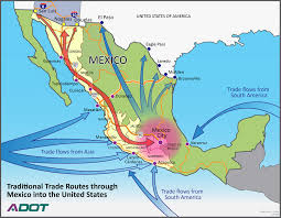 Mexican State Map by 2015 News Transportation And Trade Corridor Alliance