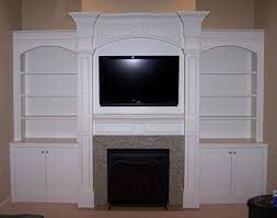 White Fireplace Entertainment Center by Fireplace Wall Units Fireplace Ideas