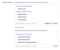 when does target close on black friday facebook lets advertisers exclude users by race u2014 propublica
