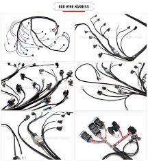 custom automotive wiring harness cable assembly with terminal