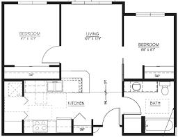 Bedroom Floor Plan 15 2 Bedroom Apartment Building Floor Plans Hobbylobbys Info
