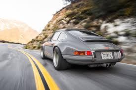 singer porsche driving the 1990 porsche 911 reimagined by singer vehicle design