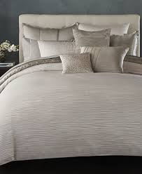 Macy S Bed And Bath Donna Karan Home Reflection Silver Collection Bedding