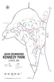 Ma Map Town Of Lenox Kennedy Park Map