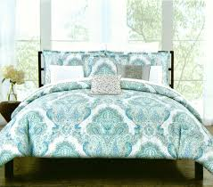 Amazon Duvet Sets Amazon Com Tahari Home Turquoise Nolan Paisley Medallions 3pc