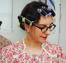 short roller set hair styles a fast roller set for everyday vintage hair by gum by golly