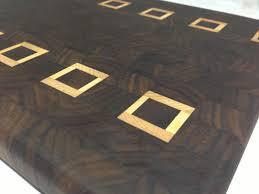 Cool Cutting Board Designs Custom Black Walnut And Cypress End Grain Butcher Block Cutting