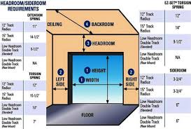 Overhead Door Track Ideal Door Track Low Headroom Kit For Overhead Garage
