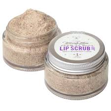 Lip Scrub blueberry lip scrub no 6 is made with honey and blueberries