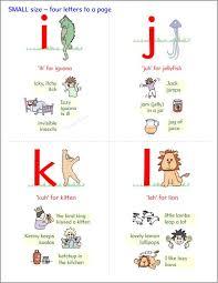 progressive phonics alphabet letter cards