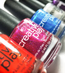 cnd creative play swatches review pt 1 of 4 beautygeeks
