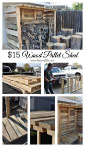 lisa u0027s scribbles blog archive 15 wood pallet shed lisa u0027s