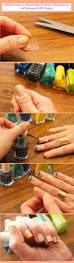 how to do a french manicure at home with tape gel nails filing