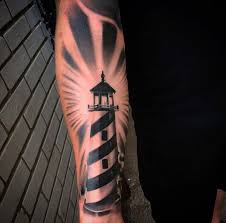 9 lighthouse tattoo ideas for forearm