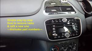 Fiat Punto Evo 2009 2015 Radio Removal U0026 Refit Guide Part