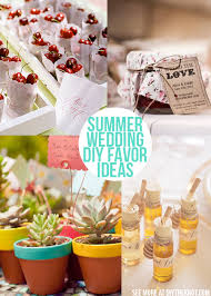 sweet summer diy wedding favor ideas diy the knot diy wedding favor ideas