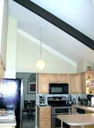 what is the best lighting for a sloped ceiling best lighting for cathedral ceilings kitchen lighting