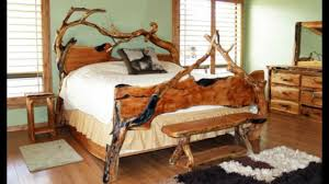 48 wood bed ideas 2017 unique bed wood log and pallet design