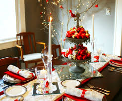 Holiday Table Decorating Christmas Table Centerpieces To Make In Shapely Bamboo Wicker
