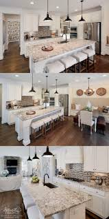 Rustic Kitchen Ideas - backsplash rustic white kitchens rustic white kitchen cabinets