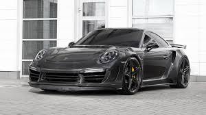 tuned porsche 911 turbo has carbon fibre body 650 hp
