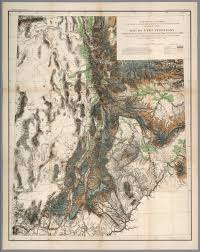 Maps Of Utah by Map Of Utah Territory Representing The Extent Of The Irrigable