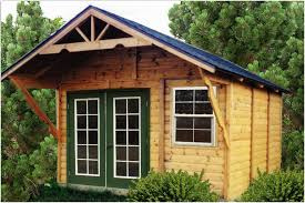 backyards bright small storage shed building wood buildings 10