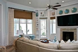 Family Room Window Treatments Marceladickcom - Family room window ideas
