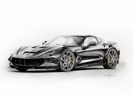 sports car drawing corvette car drawings corvette forum digitalcorvettes com